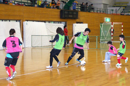 JFA ファミリー フットサル フェスティバル 2010 with KIRIN in 旭川